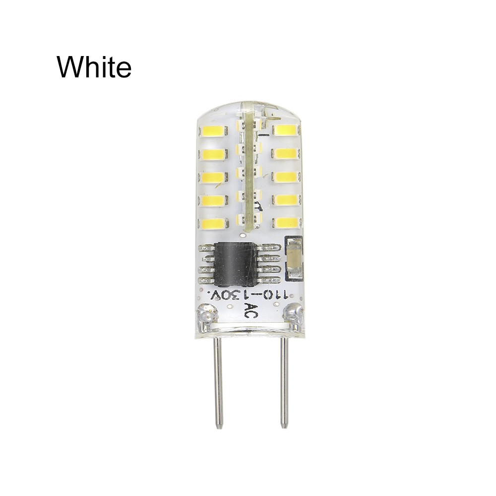 NEWKBO Dimmable G8 LED Bulb 2 Watt G8 Bi-Pin Base High Quality Silica Gel Light Bulb White For Kitchen Bedroom