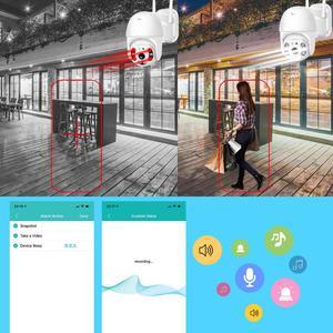 Image 3 - BESDER 1080P FHD H.265 Waterproof WiFi Camera Motion Voice Alert Dual Antenna IP Camera Audio IR Night Vision CCTV Surveillance