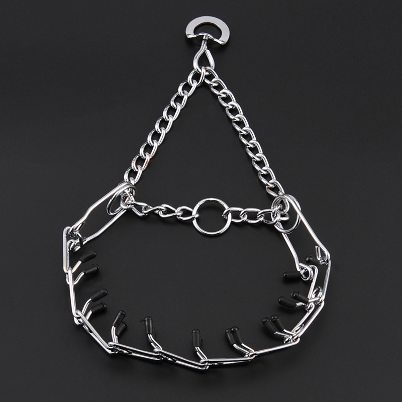 Pet Control Circle Deconstructable Dog Training Chye Chain Dog Neck Ring Metal Chain Cross Border Currently Available Wholesale