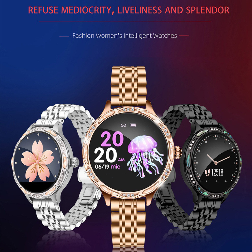 M9 Sport  SmartWatch Color Screen IP68 Waterproof Female Physiological Reminder Wristband Watch Strap fitness tracker #E20