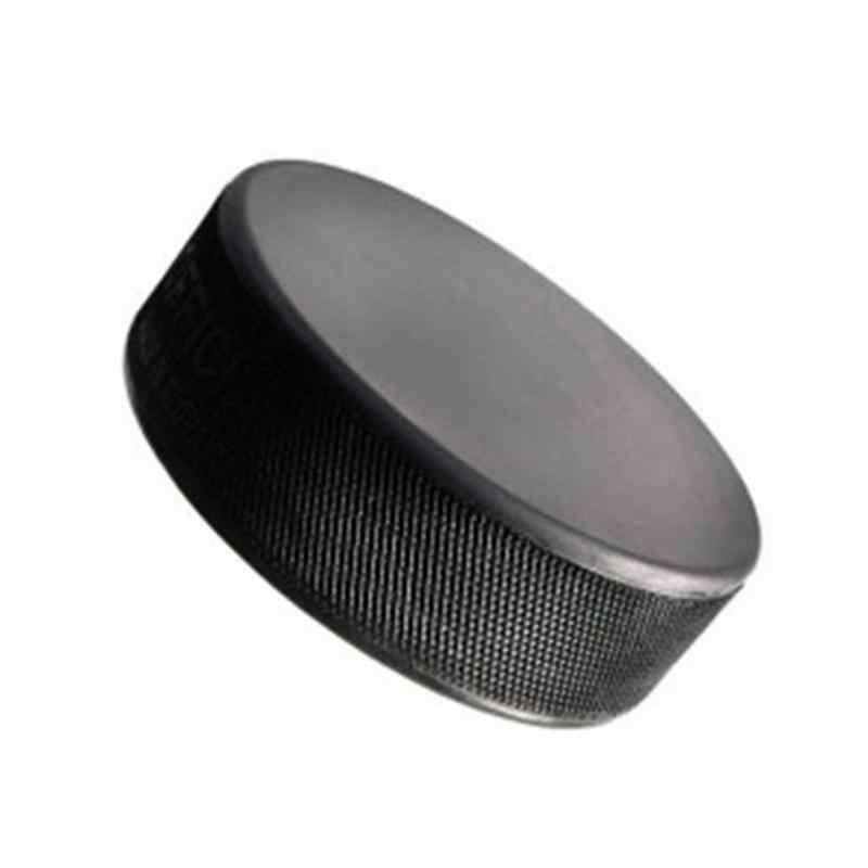 1pc ブラックアイスホッケー安全ユニークなスムーズ表面パック公式サイズゲーム練習バルクスポーツパックボール
