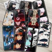 A prueba de golpes a prueba, funda para Xiaomi Mi Poco X3 NFC 10T Pro 9T M3 Nota 10 Lite F3 11 F1 CC9 A2 9 teléfono cubierta caliente Anime Jujutsu Kaisen