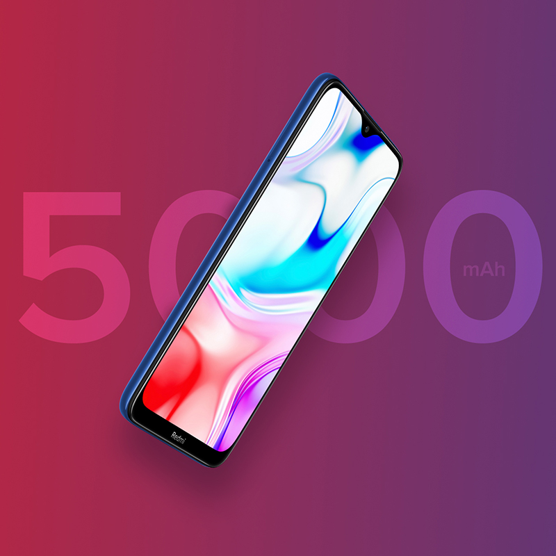 Image 3 - New Global Version Xiao Redmi 8 Smartphone 4GB RAM 64GB ROM Snapdragon 439 10W Fast Charging 5000 mah Battery Cellphone-in Cellphones from Cellphones & Telecommunications