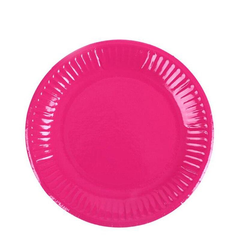 Ручной работы креативный материал цветной картон художественная роспись тарелка Сделай Сам бумажные тарелки круглые тарелки украшения