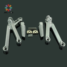 Motorcycle Footrests Rear Foot Pegs Pedals Rest Footpegs For Kawasaki ZX10R ZX 10R ZX-10R 2004 2005 04 05