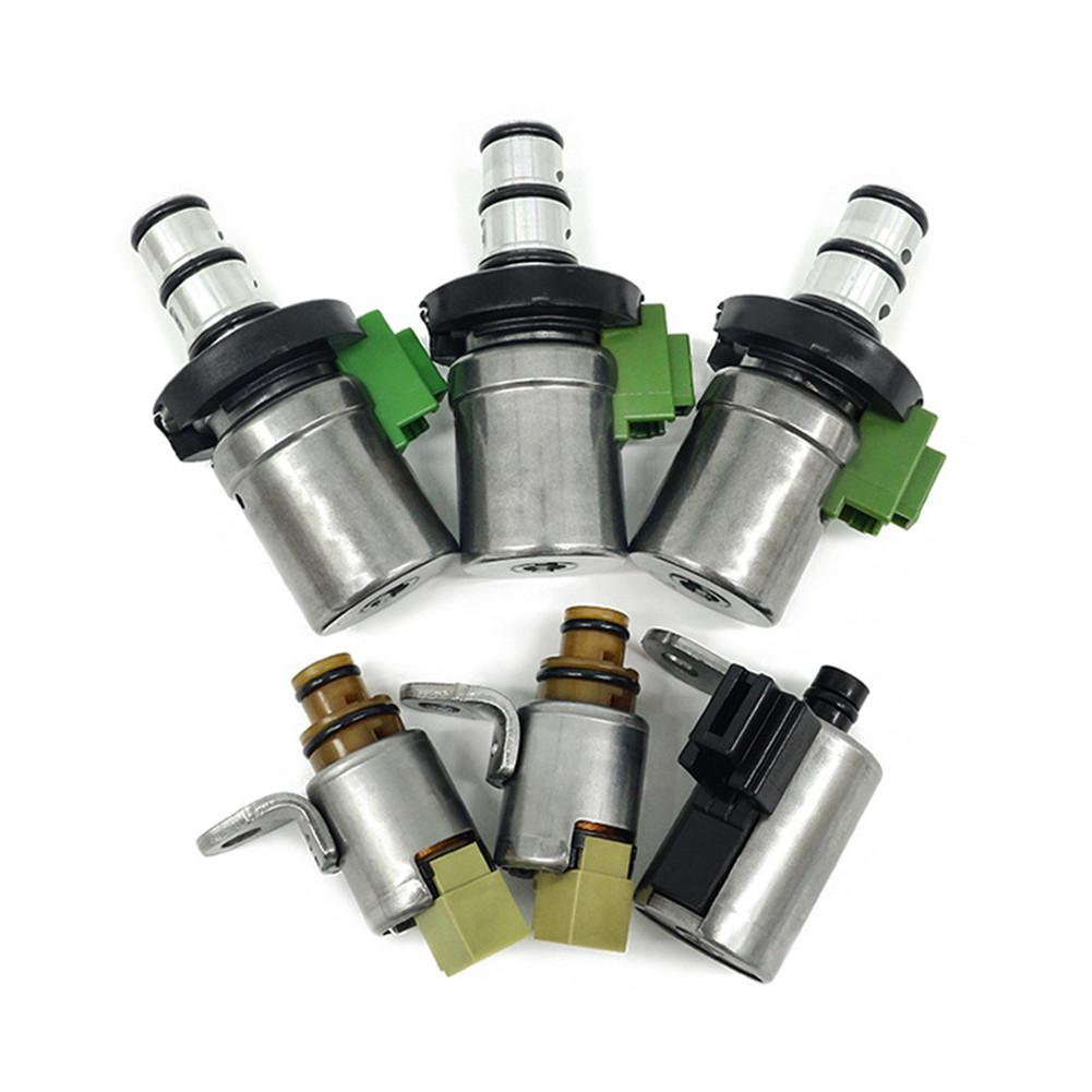 6 pièces/ensemble Testé Transmission Solénoïde 4F27E D48421A D46950 FN4A-EL Pour Ford Focus Fiesta MAZDA 2 3 5 6