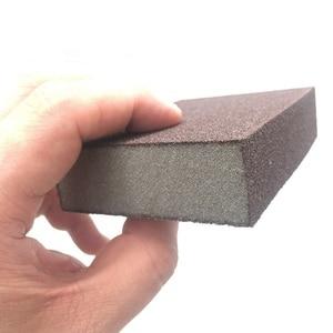 Image 4 - を除去するための 5 個スポンジマジック消しゴム錆洗浄綿エメリースポンジメラミンスポンジキッチン用品スケール除去クリーン