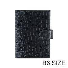 Motom b6 original capa para stalogy b6 tamanho caderno diário planejador diário papelaria agenda organizador com bolso traseiro grande