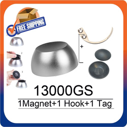 Golf Magnetic Detacher 13000GS Universal Tag Remover Magnet+1 Key Detacher Hook Detacher+1 Golf Tag For RF8.2Mhz Eas Systems