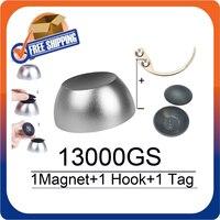 Barato Separador magnético de Golf 13000GS, eliminador de etiquetas Universal, imán + 1 separador de gancho separador de llaves + 1 Etiqueta de Golf para sistemas Eas rf8.2 MHz
