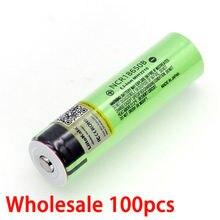 Liitokala – batterie Rechargeable au Lithium 100, 3.7 v, 3400 mAh, avec piles pointues (sans PCB), prix 18650