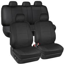 2 miejsca 5 miejsc uniwersalne pokrowce na siedzenia samochodowe PU Leather Auto Protect pokrowce pokrowce na siedzenia samochodowe pokrowiec na siedzenie samochodu zestaw tanie tanio Cztery pory roku 135cm Pokrowce i podpory 0 8kg Wodoodporne Podstawową Funkcją 76cm Car Seat Cover Leather car seat covers