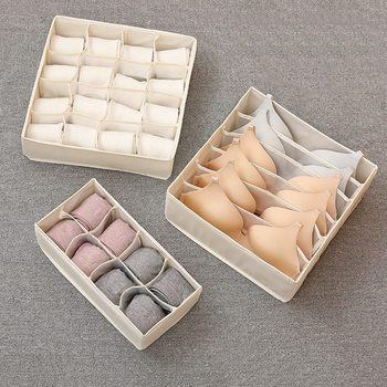 Organizery szuflady Oxford organizery wielofunkcyjne organizery do biustonosza bielizny skarpetki przenośny Organizer do bielizny tanie i dobre opinie 3 sizes tie organizer box storage box bra socks box