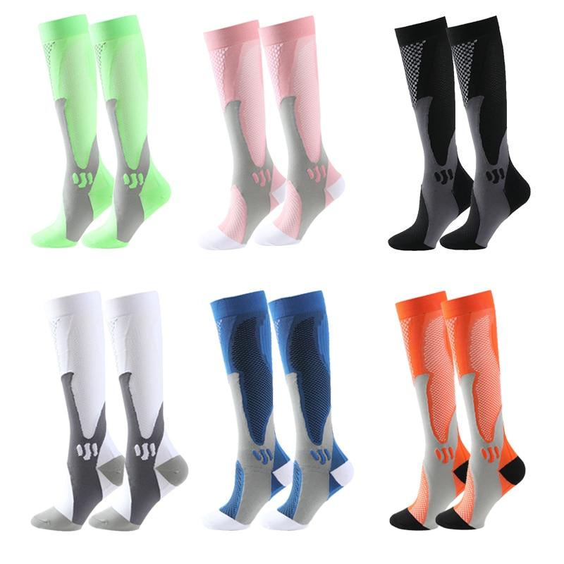 Компрессионные носки, нейлоновые медицинские чулки для кормящих матерей, специализирующиеся на открытом воздухе, быстросохнущие дышащие с...