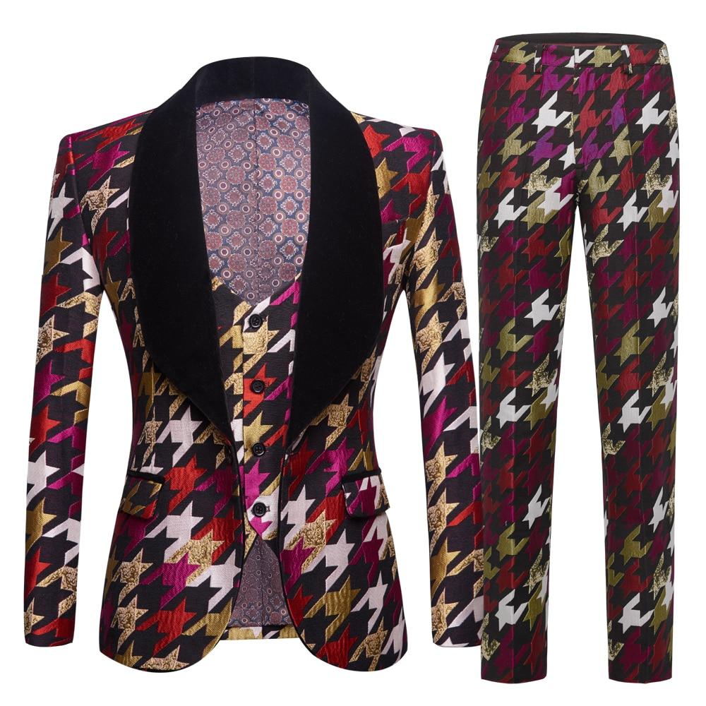 Mens Swallow Gird Suits 3 piece Latest Coat Pant Designs Tuxedo Burgundy Lapel Party Dress Groom Suit Men Suit For Wedding