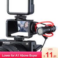 UURig Kamera Vlog Selfie Flip Bildschirm Halterung für Spiegellose Kamera Periskop Lösung für Sony A6000 A6300 A6500 A72 A73 A7R3