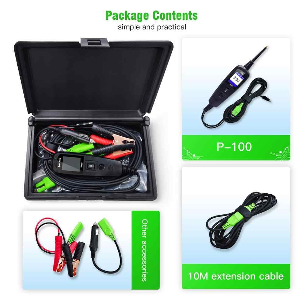 Oryginalny Tester obwodów elektrycznych P100 sonda mocy większa moc niż AUTEK YD208 Autel PS100 automatyczna instalacja elektryczna testowanie pióra