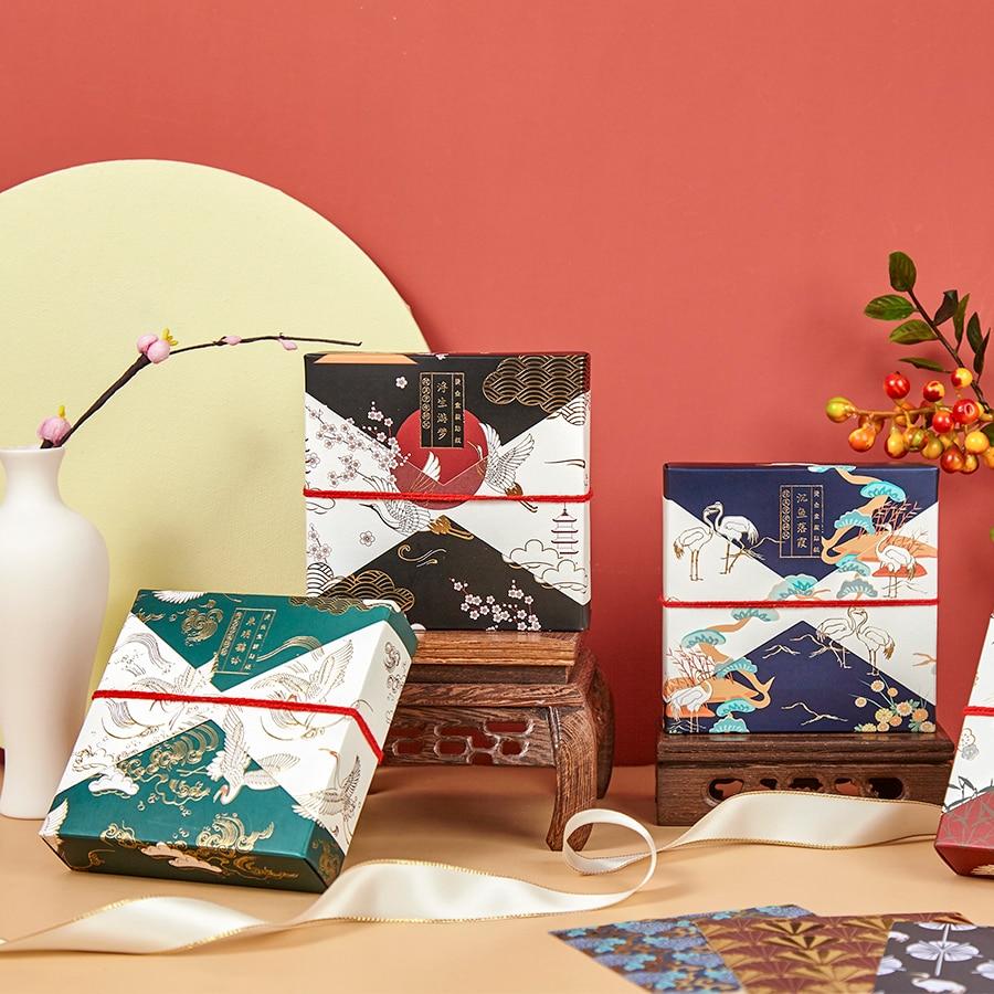 30pcs/box Retro Divine Gold Bullet Journal Decorative Washi Stickers Scrapbooking Stick Label Diary Stationery Album Stickers