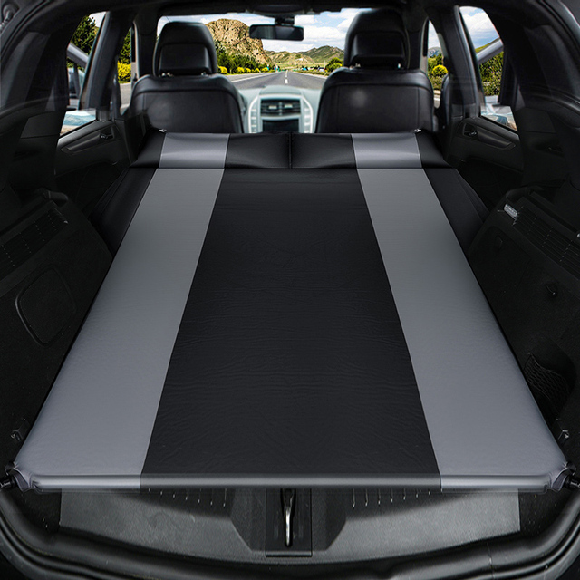 Shibu Universal SUV car travel bed special trunk travel bed car inflatable mattress free air travel mattress sleeping pad caming 1