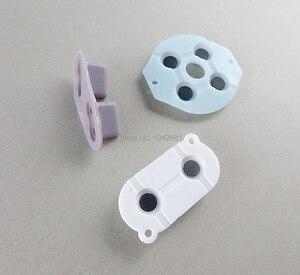 Image 4 - 60 zestawów/partia gumowe przyciski przewodzące A B d pad dla Game Boy klasyczny GB silikonowy Start wybierz klawiaturę