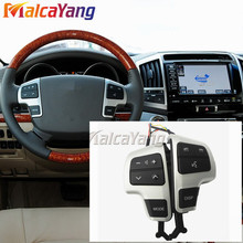 Land-Cruiser Steering-Wheel VDJ200 Audio-Control-Switch/button Toyota with Bluetooth