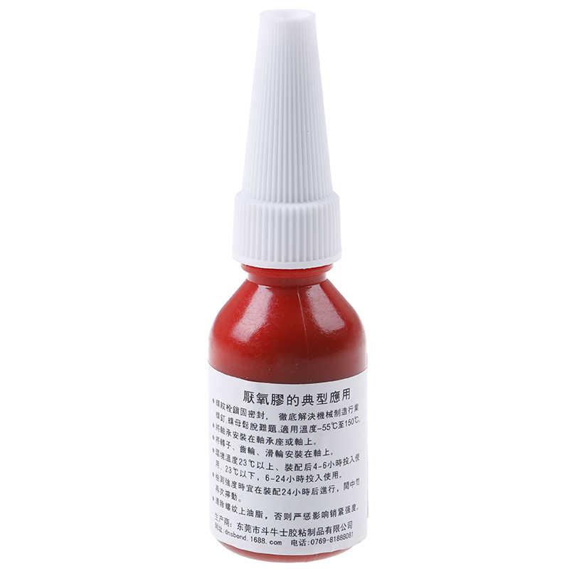 Pegamento de rosca, 1 Uds., 10ml, agente de bloqueo, adhesivo anaeróbico 243, pegamento resistente al aceite, curado rápido para Metal