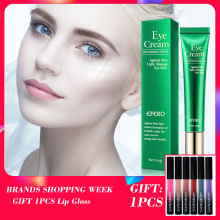 лучшая цена EFERO Eye Cream Peptide Collagen Serum Anti-aging Anti-Wrinkle Remover Dark Circles Eye Care Against Puffiness Bags Eye Cream