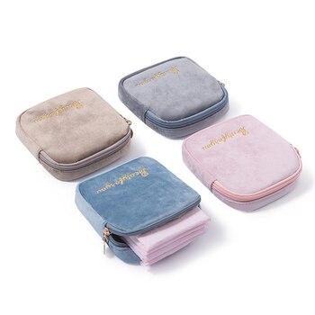 Bolsa de almacenaje de pañuelos sanitarios, bolsa de lona, bolsa de maquillaje,...