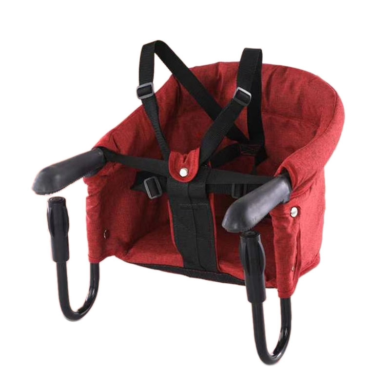 Portable Baby High Chair Foldable Feeding Chair Seat Booster Safety Belt Dining