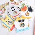 30 шт. DIY этикетки Kawaii Канцелярские Стикеры s собака рука аккаунт украшение стикер фотоальбом скрапбукинг творческая бумага