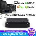 WR320 inalámbrico receptor de Audio y wi-fi para Airplay Spotify DLNA NAS Multiroom sonido corriente adaptador Bluetooth música Adaptador de Audio