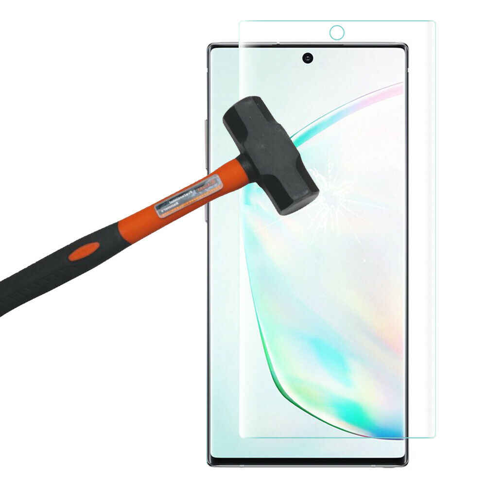 UV de vidrio templado para Samsung Galaxy S10 Plus Lite Nota 10 Plus 30D líquida completa Protector de pantalla para Samsung Nota 10 de vidrio