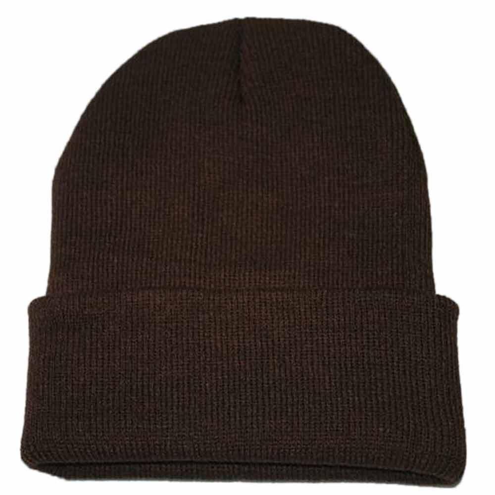 Осенне-зимняя одежда из шерсти смеси мягкий теплый вязаный Кепки Повседневное Chapeau унисекс сапоги высотой выше колена Вязание шапка в стиле хип-хоп кепка, теплая зимняя Лыжная шапка# Y5 - Цвет: Coffee