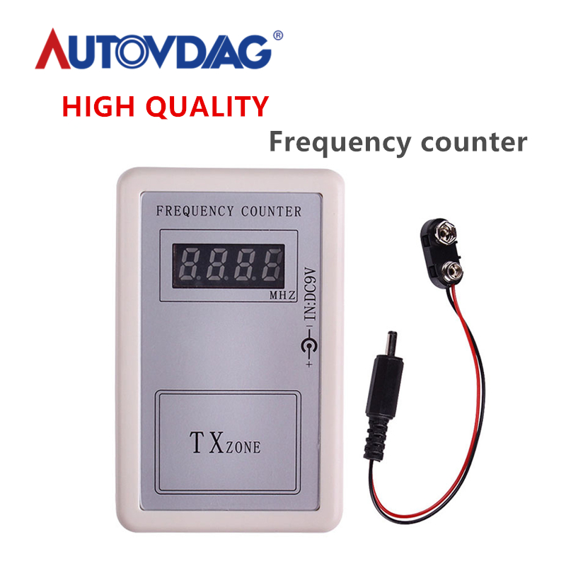 Handheld Wireless <font><b>Remote</b></font> Control Detector Counter Frequency <font><b>Tester</b></font> 250-450 MHZ MAR21_15 Car Diagnostic tool free shipping image