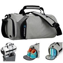 Gym-Bags Travel Separation-Bags Single-Shoulder-Handbag Fitness-Training Multifunction