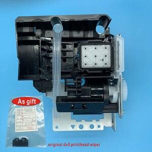 Image 1 - DX5 druckkopf Tinte Auf Wasserbasis Pumpe Montage Capping Station für Epson 7800 7880C 7880 9880 9880C 9800 Pumpe Einheit Reinigung einheit