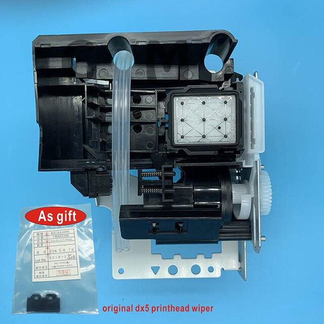 DX5 druckkopf Tinte Auf Wasserbasis Pumpe Montage Capping Station für Epson 7800 7880C 7880 9880 9880C 9800 Pumpe Einheit Reinigung einheit