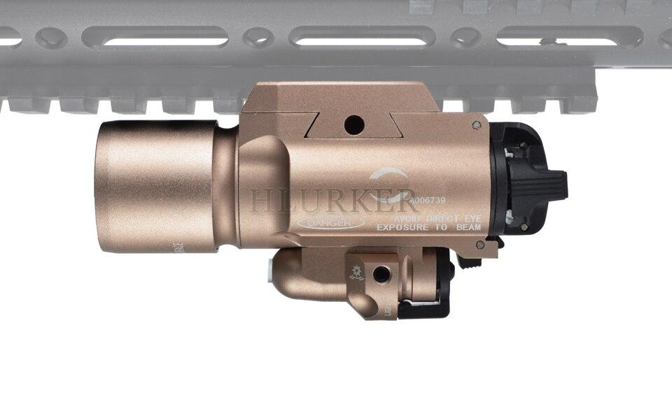 Arma Com Mira Laser Vermelho Para pistola AR15