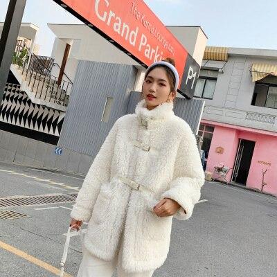 2020 New Style High-end Fashion Women Faux Fur Coat C34