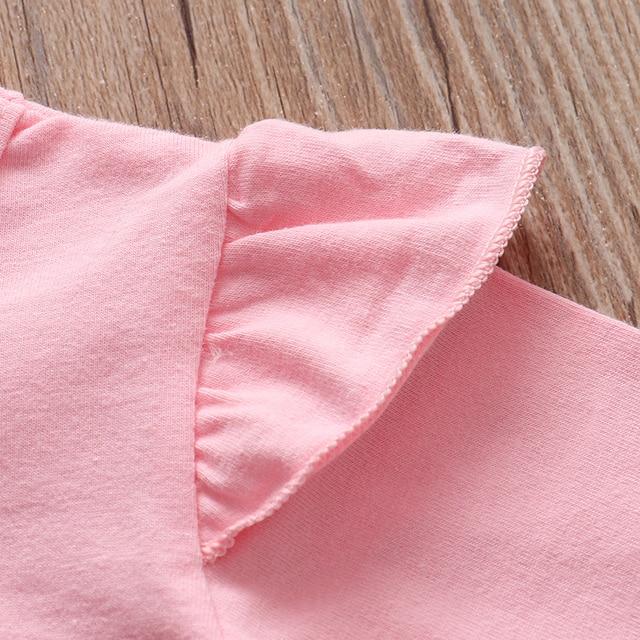 3Pcs Newborn Baby Girl Clothes Set  3