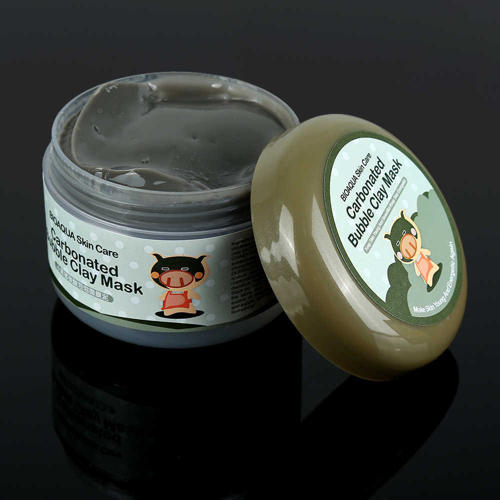 100g collagène boue argile masque Facial hydratant nettoyage en profondeur Anti-acné masque de sommeil blanchissant oxygène boue soins de la peau TSLM2