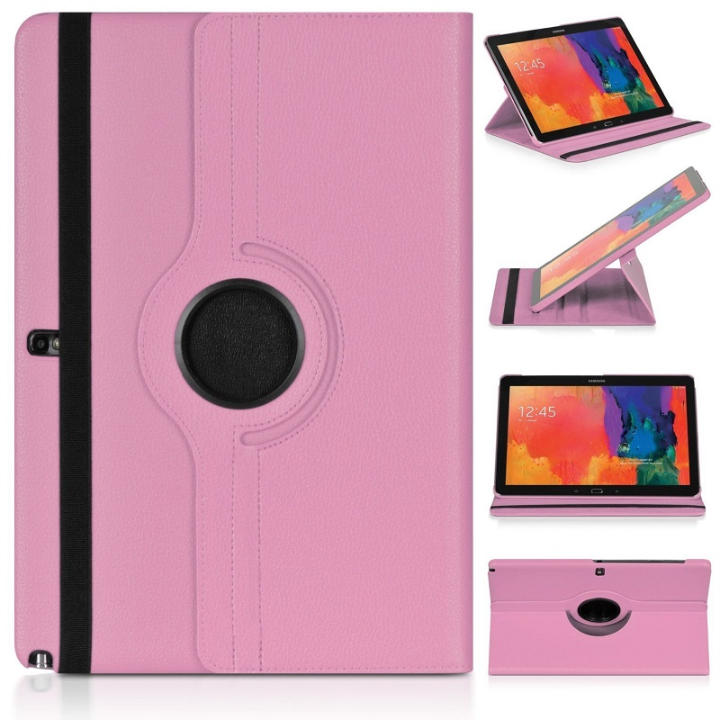 Magnetic Folding Case for <font><b>Samsung</b></font> Galaxy Note 10.1 2012 Folio Pu Leather Cover N8000 N8010 N8020 <font><b>GT</b></font>-N8000 <font><b>GT</b></font>-N8010 10 Funda Capa image