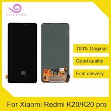 Xiaomi Redmi için K20/K20 pro OLED LCD IPS Ekran dokunmatik sayısallaştırıcı tertibatı Xiaomi Redmi Için Ekran Orijinal