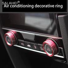 Красочные 2 шт/компл авто кондиционера декоративное покрытие