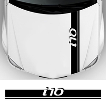 Engine-Bonnet Wrap-Cover Trim-Stickers Car-Accessories Hood Auto-Decoration Hyundai I10