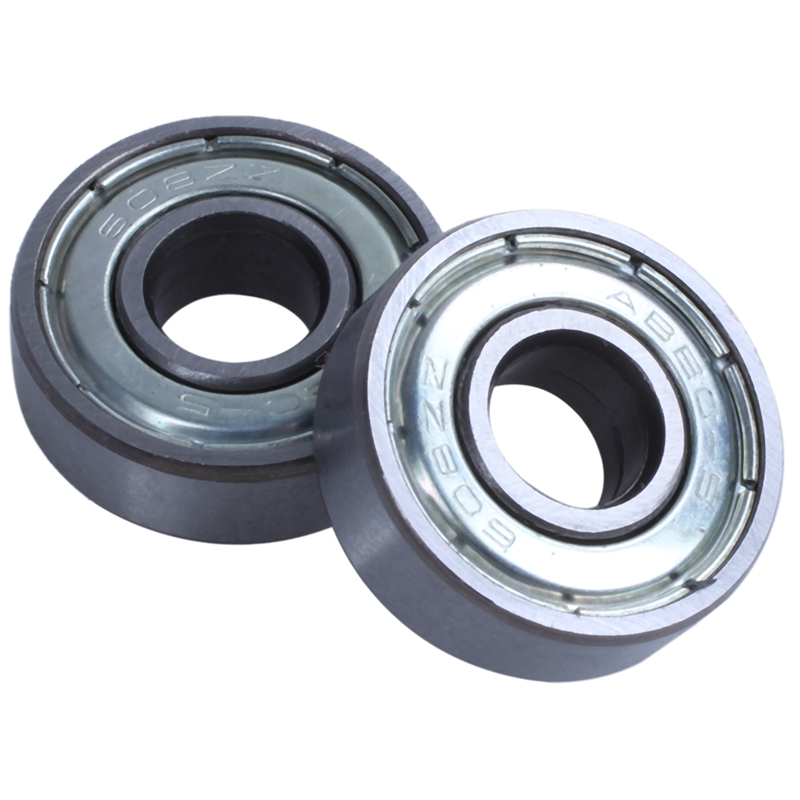(pack Of 20) 608 ZZ Skateboard Bearings, Double Shielded,8x22x7 Miniature Ball Bearings