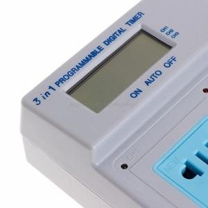 Image 5 - AUปลั๊กHighpowerการควบคุมไมโครคอมพิวเตอร์3in1 Programmable Timer SocketดิจิตอลO12 19 Dropship