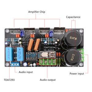 Image 4 - AIYIMA TDA7293 Eindversterker Audio Board 2.0 Stereo Geluid Versterkers Dubbele Parallelle Amplificador 160W * 2 Home Theater DIY