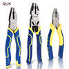 QUK Electrician Pliers Wire Cutter Cable Stripping Crimping Tool Industrial Grade Multitool Household DIY Repair Hand Tools 1