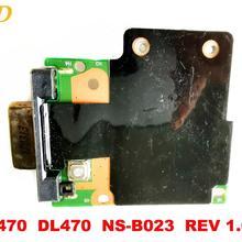 Для lenovo L470 плата L470 DL470 NS-B023 REV 1,0 протестирована хорошая